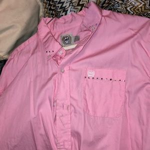 men's brand new long sleeve button up
